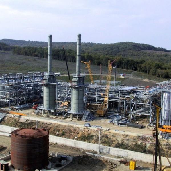 Строительство объектов ООО «Таманьнефтегаз»